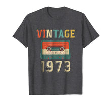 Load image into Gallery viewer, 46th Birthday Gift Vintage 1973 46 Years Old Mixtape T-Shir