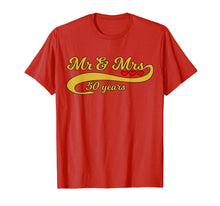 Load image into Gallery viewer, 50th Golden Wedding Anniversary T Shirt
