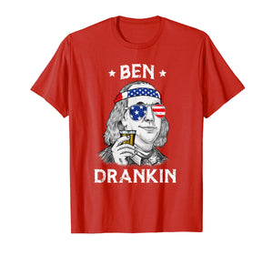 4th Of July Ben Drankin Benjamin Franklin T-Shirt