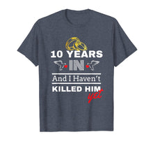 Load image into Gallery viewer, 10 Year Anniversary Gift Idea For Her - 10 Years In T Shirt