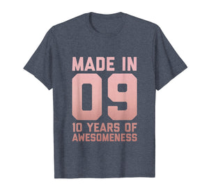 10th Birthday Shirt Girls Daughter Age 10 Year Old Girl Gift