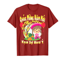 Load image into Gallery viewer, 2020 Rat - Girl Vietnamese Lunar New Year Kids T Shirt Gift