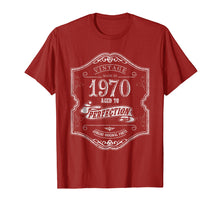 Load image into Gallery viewer, 1970 Birthday Gift 49 Year Old 1970 Shirt 49th Bday Tshirt