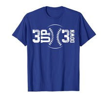 Load image into Gallery viewer, 3 Up 3 Down Baseball T-Shirt