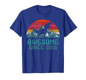1st Birthday Gift Shirts Dinosaur 1 Year Old T-Shirt For Boy