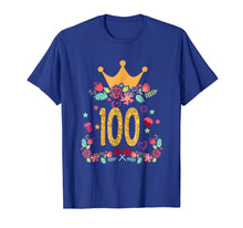 Load image into Gallery viewer, 100th Birthday Princess Crown Shirt