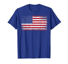 Load image into Gallery viewer, 4th of July American Flag Vintage USA Men Women Patriotic T-Shirt