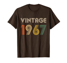 Load image into Gallery viewer, 52th Birthday T-Shirt Gift Vintage 1967 Men Women T-Shirt