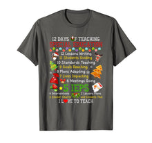 Load image into Gallery viewer, 12 Days Of Teaching Special Education Teacher Elf Christmas T-Shirt