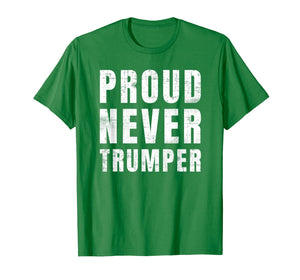 #Nevertrumper Proud Never Trumper T-Shirt