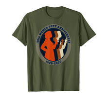 Load image into Gallery viewer, 100th Women Vote Anniversary Gift 1920 2020 Voting Elections T-Shirt