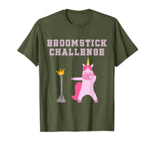 Load image into Gallery viewer, #broomstickchallenge Broomstick Challenge Champion Unicorn T-Shirt