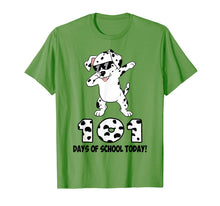 Load image into Gallery viewer, 101 Days Of School Shirt Dabbing Dalmation Dog Teachers Kids