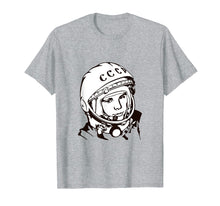 Load image into Gallery viewer, 1961 - Yuri Gagarin - First Man In Space T-Shirt Lineart