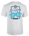 Southern Darlin Funny Always Be Preppy Big Bow Anchor Bright Girlie T-Shirt - SimplyCuteTees