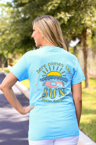 Southern Darlin Here Comes the Sun Bright Girlie T-Shirt