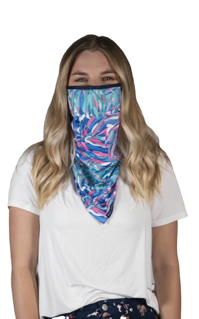 Simply Southern Preppy Keys Protective Mask Cover