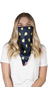 Simply Southern Preppy Lemons Protective Mask Cover