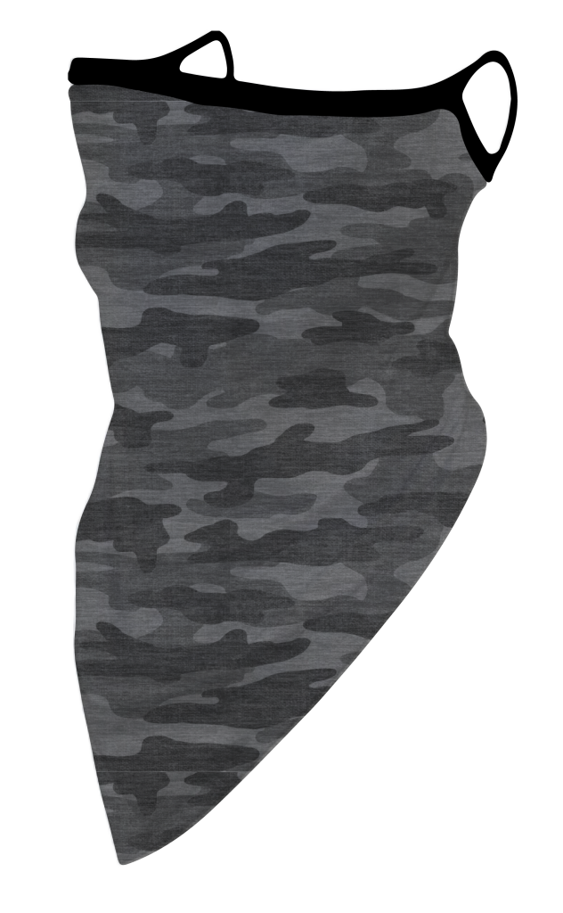 Simply Southern Camo Grey Protective Mask Cover