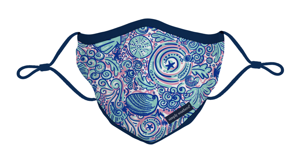 Simply Southern Preppy Swirly Protective Mask