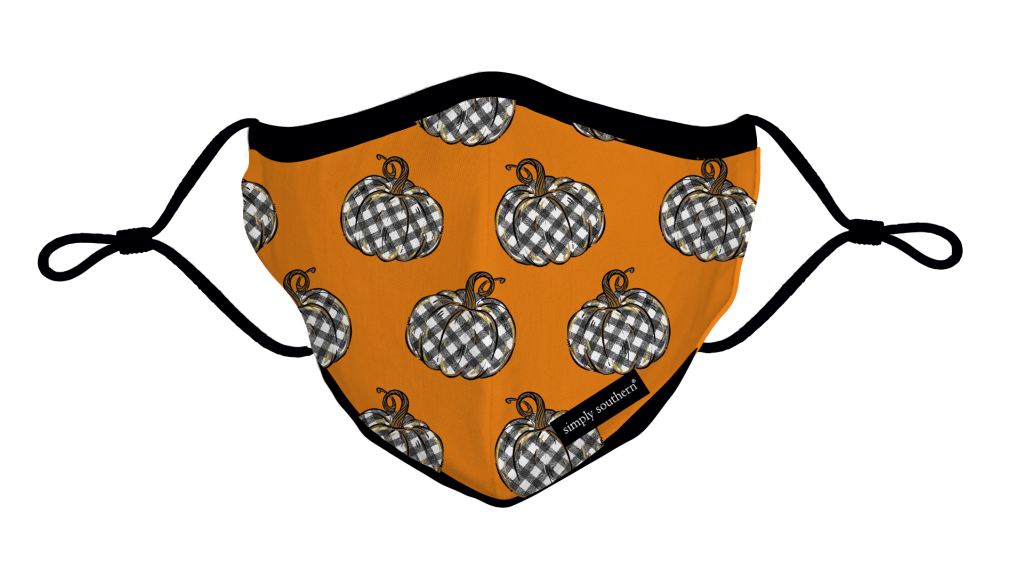 Simply Southern Preppy Pumpkin Fall Protective Mask