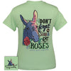 Girlie Girl Originals Preppy Eat Roses Donkey T Shirt