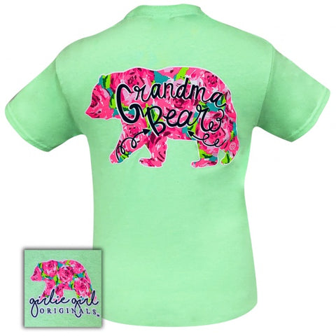 Girlie Girl Originals Preppy Grandma Bear T-Shirt