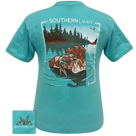 Southern Limits Dog Duck Hunting Unisex T-Shirt