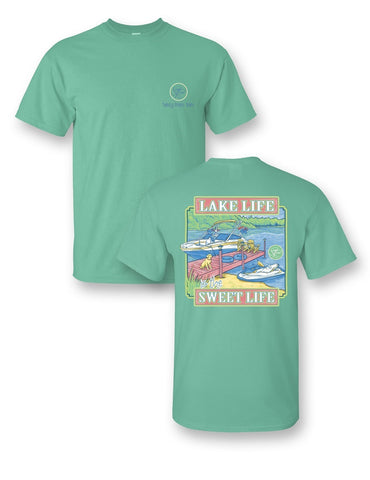 SALE Sassy Frass Collection Lake Life Sweet Life Comfort Colors Bright T Shirt