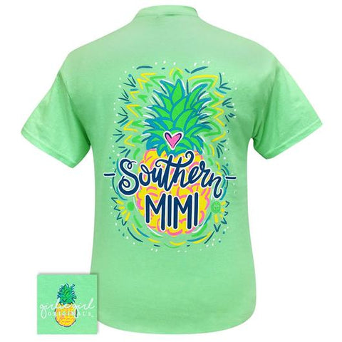 Girlie Girl Originals Preppy Southern Mimi Pineapple T Shirt