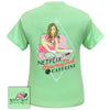 Girlie Girl Originals Preppy Netflix Quarantined And Caffeine COVID-19 T-Shirt