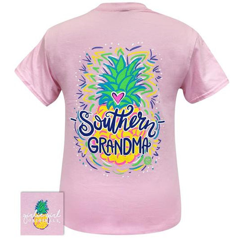 Girlie Girl Originals Preppy Southern Grandma Pineapple T Shirt