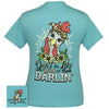 Girlie Girl Originals Preppy Darlin Chicken Hen T Shirt