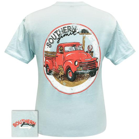 Southern Limits Dogs and Truck Unisex T-Shirt