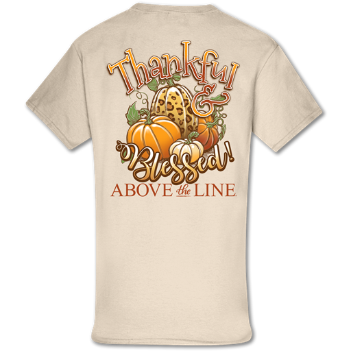 Couture Above The Line Classic Thankful & Blessed Fall T-Shirt