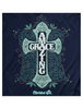 Cherished Girl Amazing Grace Cross Girlie Christian Bright T Shirt - SimplyCuteTees