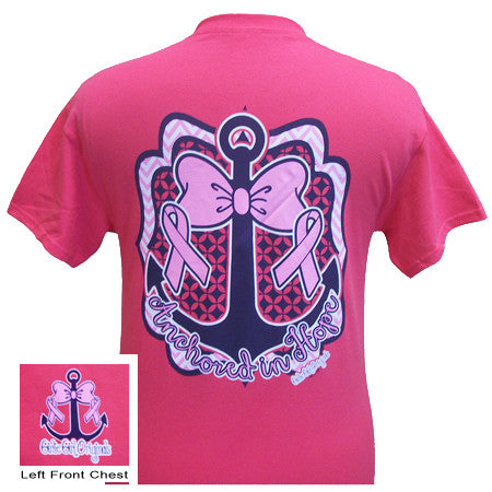 Girlie Girl Originals Anchored In Hope Breast Cancer