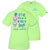 Simply Southern Preppy Done In Love Feather Lime T-Shirt
