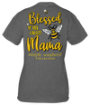 Simply Southern Preppy Blessed To Bee Called Mama T-Shirt