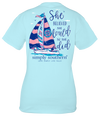 Simply Southern She Believed She Could Boat Ice T-Shirt