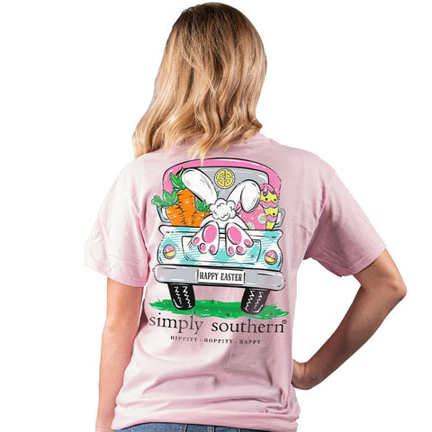 Simply Southern Preppy Happy Easter Bunny T-Shirt