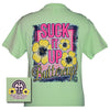Girlie Girl Originals Collection Suck It Up Buttercup Mint Green Bright T Shirt - SimplyCuteTees