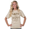 Country Chick By Simply Southern Farm Hair Dont Care T-Shirt
