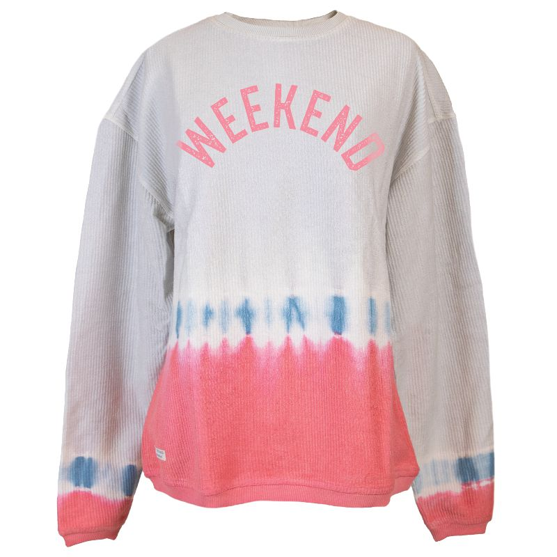 Simply Southern Weekend Coastal Beach Crew Long Sleeve Sweatshirt