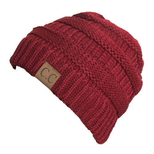 CC Comfort Colors Knit Winter Beanie Hat | SimplyCuteTees