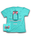 Cherished Girl Amazing A Mason Jar Bow Grace Girlie Christian Bright T Shirt - SimplyCuteTees