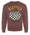 Simply Southern Blessed Pumpkin Fall Long Sleeve Crew Sweatshirt
