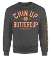 Simply Southern Chin Up Buttercup Long Sleeve Crew Sweatshirt