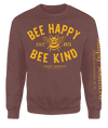 Simply Southern Bee Happy Bee Kind Long Sleeve Crew Sweatshirt