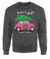 Simply Southern Merry & Bright Christmas Long Sleeve Crew Sweatshirt